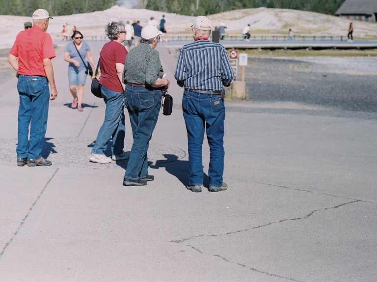 Grandparents Jeans, Yellowstone National Park, Wyoming
