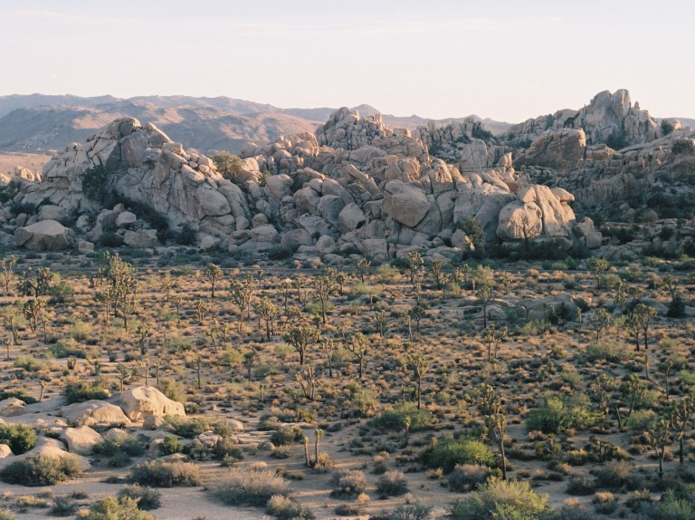 Stacks of Pebbles For Giants, Joshua Tree National Park