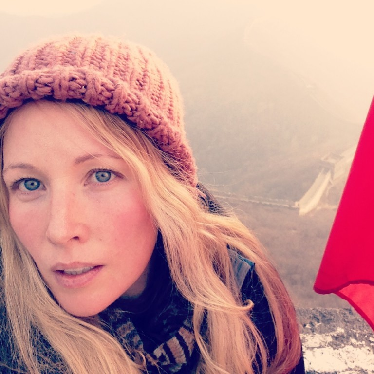 Selfie on the Great Wall, y'all.