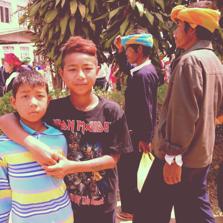 Burma punks, celebrating Pa-O National Day to remember ancestors, such as King Thuriyasanda, whose birthday is also celebrated on National Day, and past leaders.
