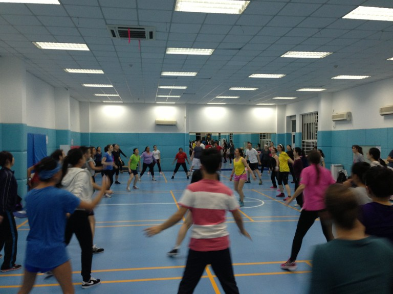Sweat like a Swede is the tagline for Hey!Robics- one of the fastest growing ways to stay fit in Beijing. Get down to Beyonce and Ludacris while staying in time with a gym full of folks from around the globe.