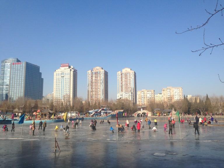 Tuan Jei Hu lake skate.