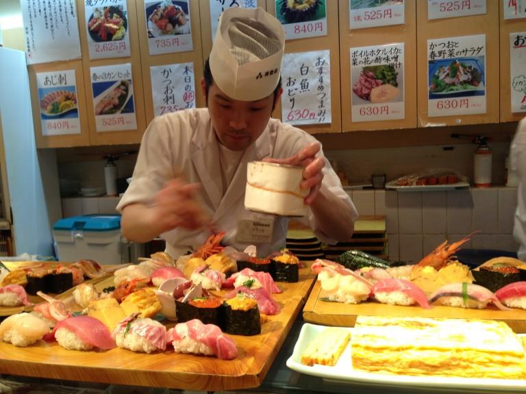 Midori Sushi, Shibuya